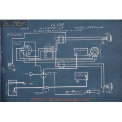 Glide Light Sic 40 6volt Schema Elctrique 1918 Westinghouse