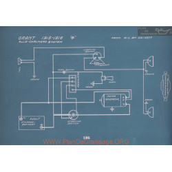 Grant 4 Schema Electrique 1915 1916 V2