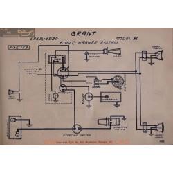 Grant H 6volt Schema Electrique 1919 1920 Wagner V2