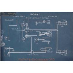Grant H 6volt Schema Electrique 1919 1920 Wagner