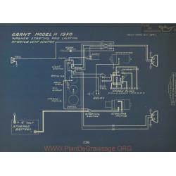 Grant H Schema Electrique 1920 Wagner Kent
