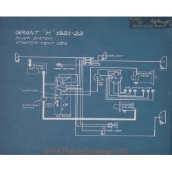 Grant H Schema Electrique 1921 1922