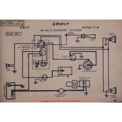 Grant K6 6volt Schema Electrique 1917 Wagner