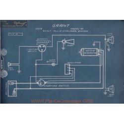 Grant M 6volt Schema Electrique 1914 Allis Charmers