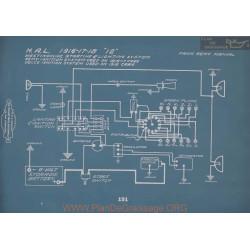 Hal 12 Schema Electrique 1916 1917 1918 V2