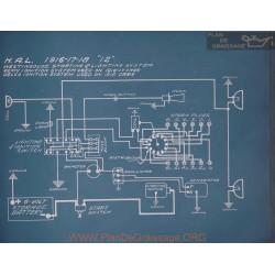 Hal 12 Schema Electrique 1916 1917 1918