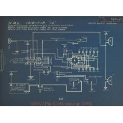 Hal 12 Schema Electrique 1916 1917 1919 Westinghouse