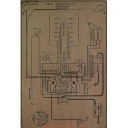Hal Twelve 21 Schema Electrique 1917 Westinghouse