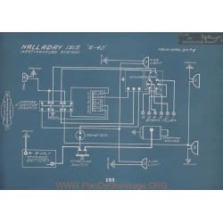 Halladay 6 40 Schema Electrique 1915 V2