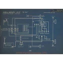 Halladay 6 40 Schema Electrique 1915 Westinghouse