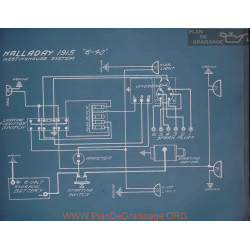 Halladay 6 40 Schema Electrique 1915