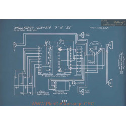 Halladay G 32 Schema Electrique 1913 1914 V2