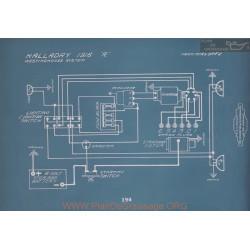 Halladay R Schema Electrique 1916 V2