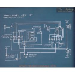Halladay R Schema Electrique 1916