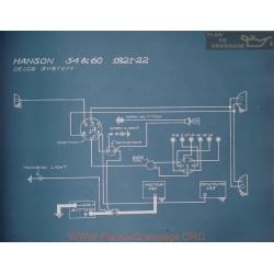 Hanson 54 60 Schema Electrique 1921 1922