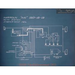 Harroun Aa1 Schema Electrique 1917 1918 1919