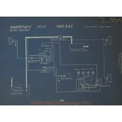 Harroun Aa2 Schema Electrique 1920 Remy