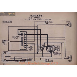 Havers 16volt Schema Electrique 1913 North East
