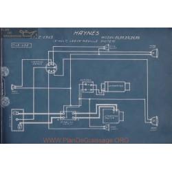 Haynes 21 22 23 24 25 12volt Schema Electrique 1912 1913 Leece Neville