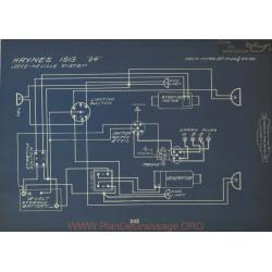 Haynes 24 Schema Electrique 1913 Leece Neville