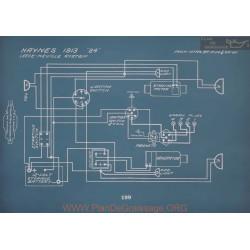 Haynes 24 Schema Electrique 1913 V2