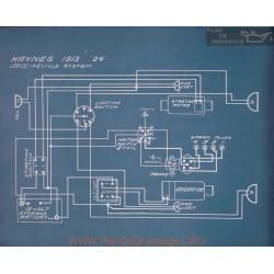 Haynes 24 Schema Electrique 1913