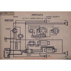 Haynes 26 28 27 12volt Schema Electrique 1914 Leece Neville V2