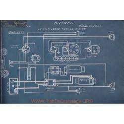 Haynes 26 28 27 12volt Schema Electrique 1914 Leece Neville