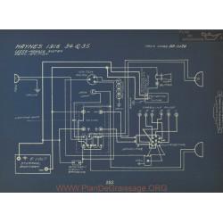 Haynes 34 35 Schema Electrique 1916 Leece Neville Remy