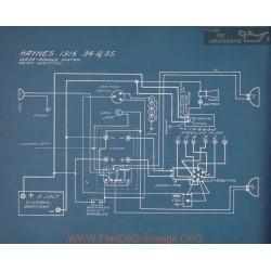 Haynes 34 35 Schema Electrique 1916