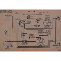 Hcs 3 6volt Schema Electrique 1921 Delco