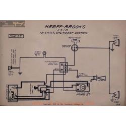 Herff Brooks 6volt 12volt Schema Electrique 1916 Splitdorf V2