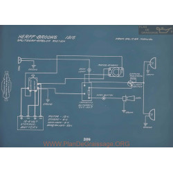 Herff Brooks Schema Electrique 1916 V2