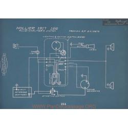 Hollier 166 Schema Electrique 1917