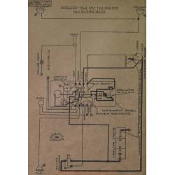 Hollier 176 Schema Electrique 1917 1918 1919 Allis Chalmers