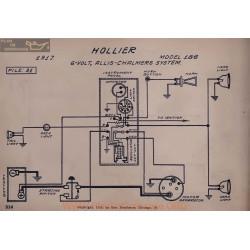 Hollier 186 6volt Schema Electrique 1917 Allis Chalmers