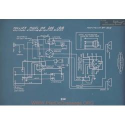Hollier 188 206 Schema Electrique 1918