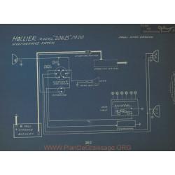 Hollier 206b Schema Electrique 1920 Westinghouse