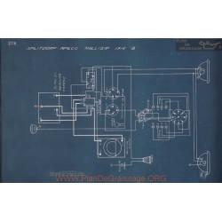 Hollier 8 Splitdorf Aplco Schema Electrique 1916