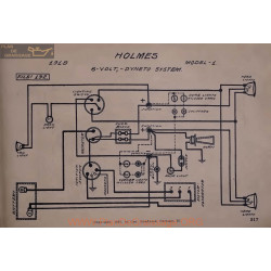 Holmes 1 6volt Schema Electrique 1918 Dyneto