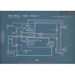 Holmes 1 Schema Electrique 1918