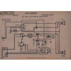 Holmes 4 5 12volt Schema Electrique 1921 Dyneto