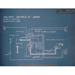 Holmes 4 Schema Electrique 1922