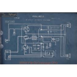Holmes 6volt Schema Electrique 1918 Dyneto