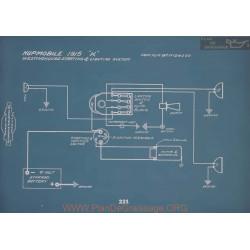 Hupmobile K Schema Electrique 1915 V2