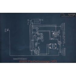 Hupmobile K Schema Electrique 1915 V3