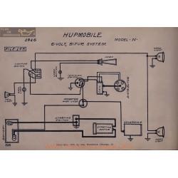 Hupmobile N 6volt Schema Electrique 1916 Bijur V2