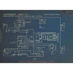 Hupmobile N Schema Electrique 1916 1917 Westinghouse