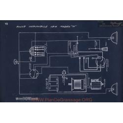 Hupmobile N Schema Electrique 1916 V3