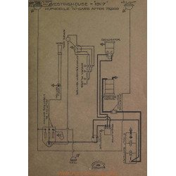 Hupmobile N Schema Electrique 1917 Westinghouse